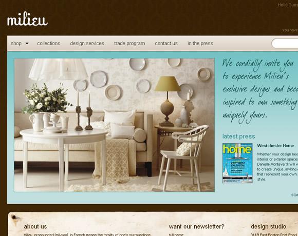 Milieu Home Goods Online Furniture Store
